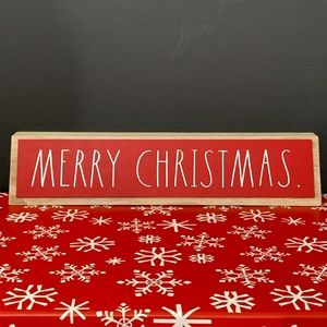 🔥2/30 Rae Dunn Merry Christmas Sign
